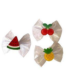 Laço transparente de frutas