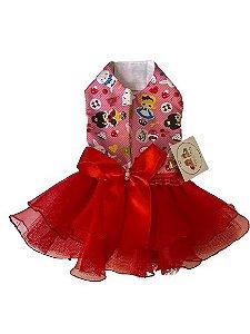 Vestido Alice vermelho