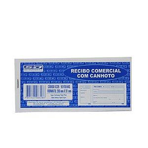 RECIBO COMERCIAL C/CANHOTO 50F