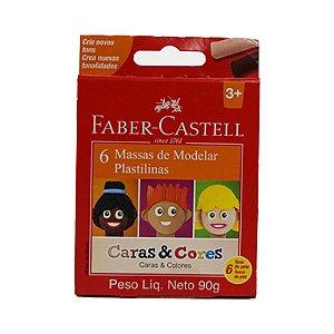 MASSAS DE MODELAR CARAS&CORES 90G