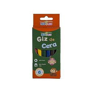 GIZ DE CERA 6 CORES FINO 8X88M