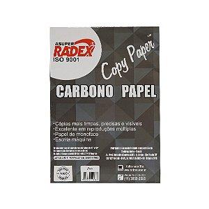 PAPEL CARBONO PRETO ASUPER RADEX C/100 FLS