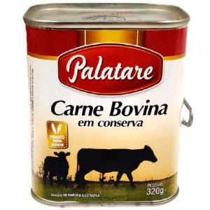 CARNE BOVINA 320G PALATARE LT