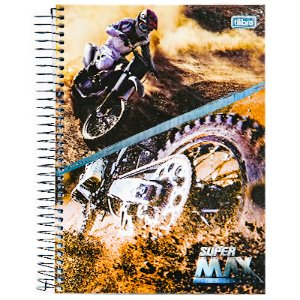 CADERNO 10 MATÉRIAS CD SUPERMAX