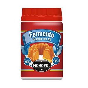 FERMENTO QUÍMICO 100G MONOPÓL PT