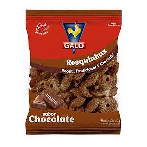 BISCOITO GALO 400G ROSQUINHA CHOCOLATE