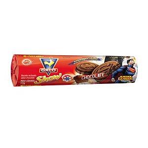 BISCOITO GALO SHOW 112G RECHEADO CHOCOLATE