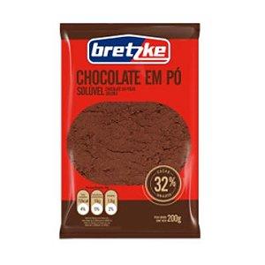 CHOCOLATE PÓ 32% CACAU 200G BRETZKE SACHÊ