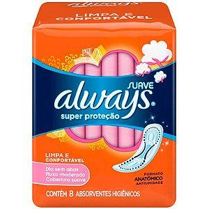 ALWAYS SUPER PROTEÇÃO SUAVE S/ABAS 8UN