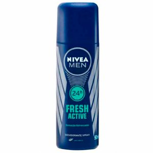 DESODORANTE SPRAY NIVEA FOR MEN FRESH ACTIVE