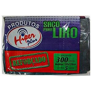 SACO LIXO 300LT C/5 UND HIPER PLUS