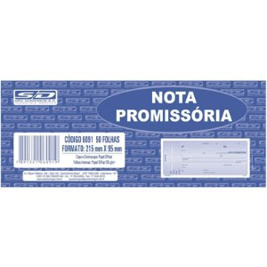 NOTA PROMISSÓRIA AMARELA 50F