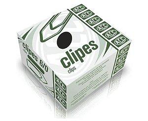 CLIPES 6/0 C/50 UNIDADES AÇO NIQUELADO ACC