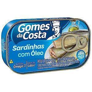 SARDINHA 250G COM ÓLEO GOMES DA COSTA LT