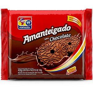 FORTALEZA AMANTEIGADO CHOCOLATE 400G