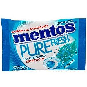 CHICLETE MENTOS FRESS MINT 90G