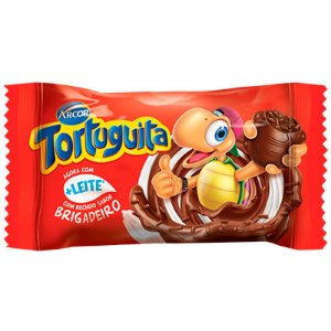 CHOCOLATE TORTUGUITA 19G AO LEITE BRIGADEIRO