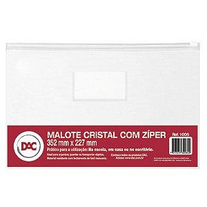 MALOTE CRISTAL C/ZÍPER MULTIUSO