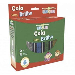COLA COM BRILHO 20G 6 CORES