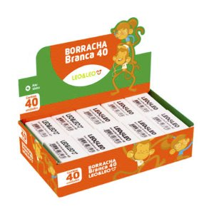 BORRACHA BRANCA 40
