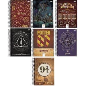 CADERNO 10 MATÉRIAS HARRY POTTER