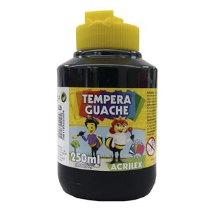 TEMPERA GUACHE 250ML PRETO