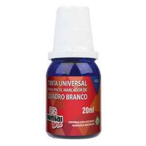 TINTA REABASTECEDORA P/ QUADRO BRANCO AZUL 20ML