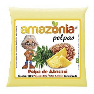 POLPA DE ABACAXI PACOTE 100G AMAZÔNIA