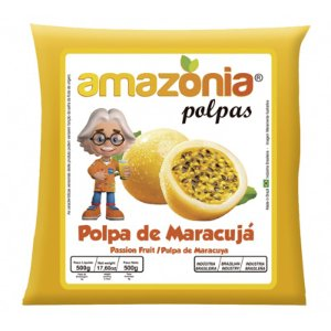 POLPA DE MARACUJÁ PACOTE 500G AMAZÔNIA