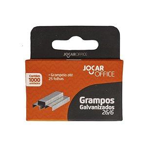 GRAMPO GALVANIZADO 26/6  JOCAR OFFICE C/1000 UNIDADES