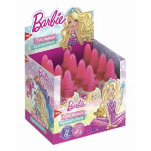 COLA BRANCA 40G BARBIE TRIS