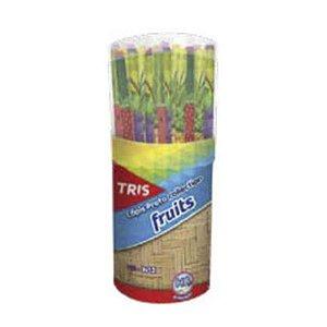 LÁPIS PRETO COLLECTION FRUITS TRIS