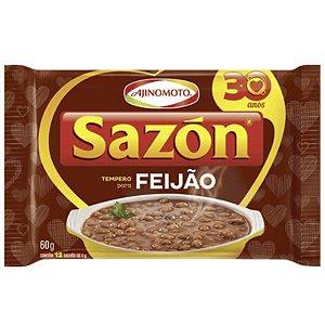 TEMPERO SAZON 60G P/ FEIJÃO CONTÉM 12 SACHÊS DE 5G