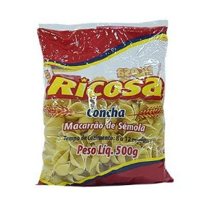 MACARRÃO 500G CONCHA RICOSA