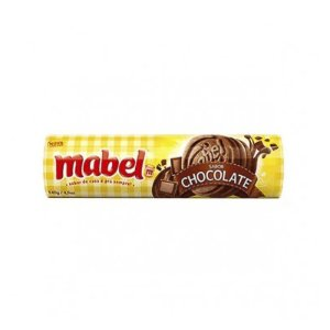 BISCOITO MABEL RECHEADO MAIS CHOCOLATE 140G