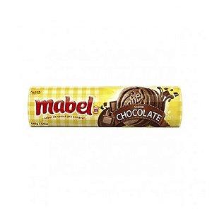 BISCOITO MABEL RECHEADO MAIS CHOCOLATE 140G