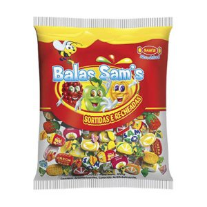 BALA SORTIDA SAMS 500G PACOTE