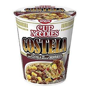 MACARRÃO INSTANTÂNEO CUP NOODLES NISSIN COSTELA 68G