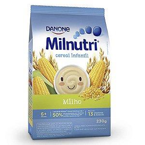 CEREAL INFANTIL MILNUTRI MILHO 230GR PACOTE