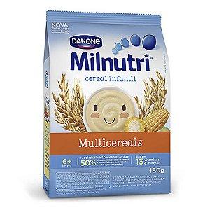 CEREAL INFANTIL MILNUTRI MULTICEREAIS 180GR PACOTE