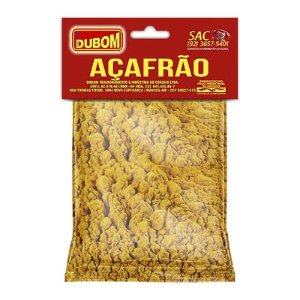 AÇAFRÃO DUBOM 30G