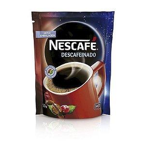 CAFÉ SOLÚVEL NESCAFÉ NESTLÉ DESCAFEINADO 50G SACHÊ