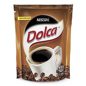 CAFÉ SOLÚVEL NESCAFÉ NESTLÉ DOLCA 50G SACHÊ