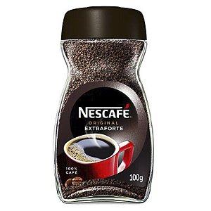 CAFÉ SOLÚVEL NESCAFÉ NESTLÉ ORIGINAL EXTRAFORTE 100G POTE