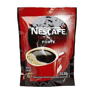 CAFÉ SOLÚVEL NESCAFÉ NESTLÉ TRADIǃO FORTE 50G SACHÊ