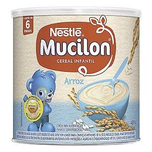 CEREAL INFANTIL MUCILON ARROZ NESTLÉ 400G LATA