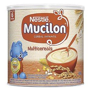 CEREAL INFANTIL MUCILON MULTICEREAIS NESTLÉ 400G LATA