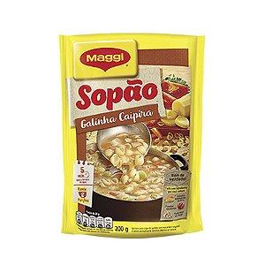 SOPÃO DE GALINHA CAIPIRA MAGGI 200G PACOTE