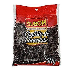 CONFEITO DE CHOCOLATE DUBOM 50G