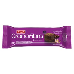 BARRA DE CEREAIS GRANOFIBRA  BROWNIE DE CHOCOLATE 20G